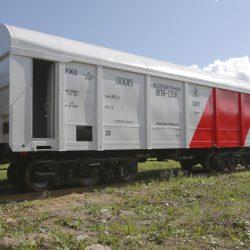 Темапрайм ЕЕ + Темалак МЛ 90 (Весоповерочный вагон ВПВ-135К) 1